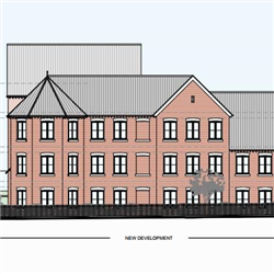 Planning permission granted for 15 apartments