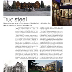 Ashorne Hill Management College features in Warwickshire Living Magazine